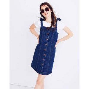 Madewell | Denim Overall Dress.